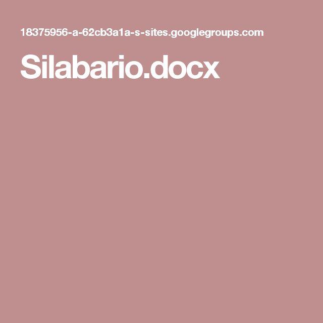 Silabario.docx