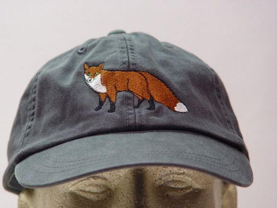 RED FOX HAT One Embroidered Wildlife Cap Price by priceapparel