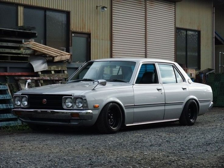 Toyota Corona T100 | Lowered, Stance, JDM