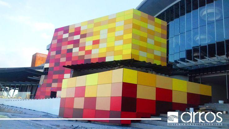 Alta Plaza Mall-Panel Fenólico HPL TRESPA