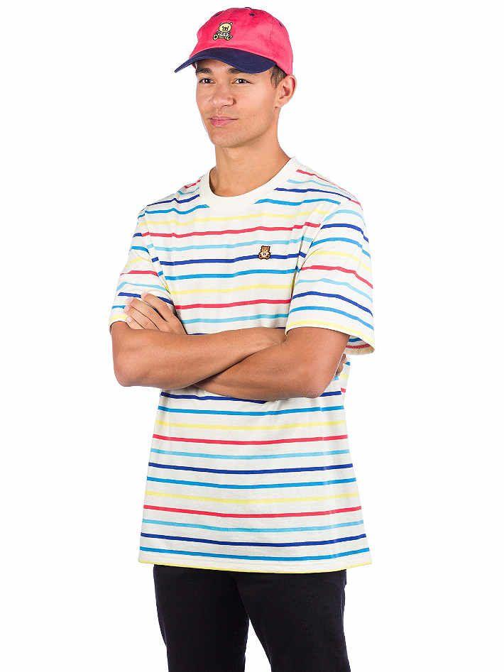 Köp Teddy Fresh Rainbow Stripe T Shirt online på Blue Tomato