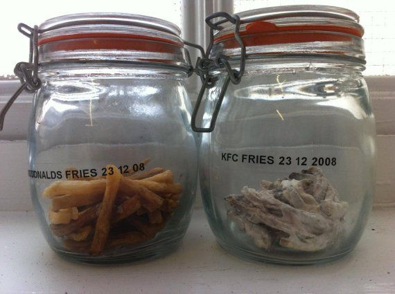 What is in these old fries, that keeps them from decaying for years? These Disturbing Fast Food Truths Will Make You Reconsider Your Lunch