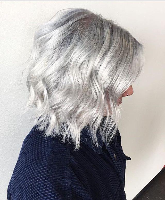 best 25 silver blonde hair ideas on pinterest silver blonde ash blonde balayage silver and. Black Bedroom Furniture Sets. Home Design Ideas