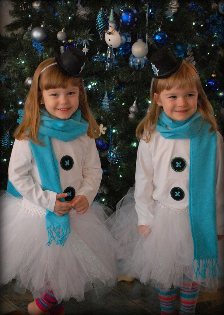 snowman outfits for their winter wonderland party
