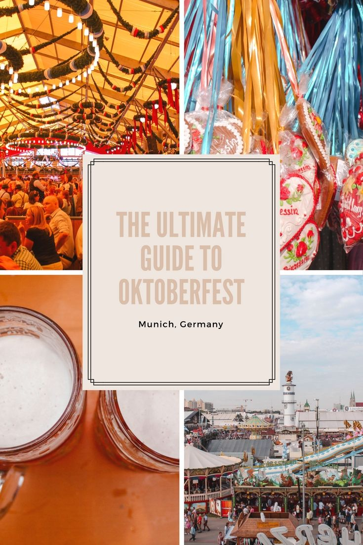 The Ultimate Guide to Oktoberfest by Kate Rebel!  #munich #oktoberfest #travel #katerebel #germany #bavaria #beer #guide