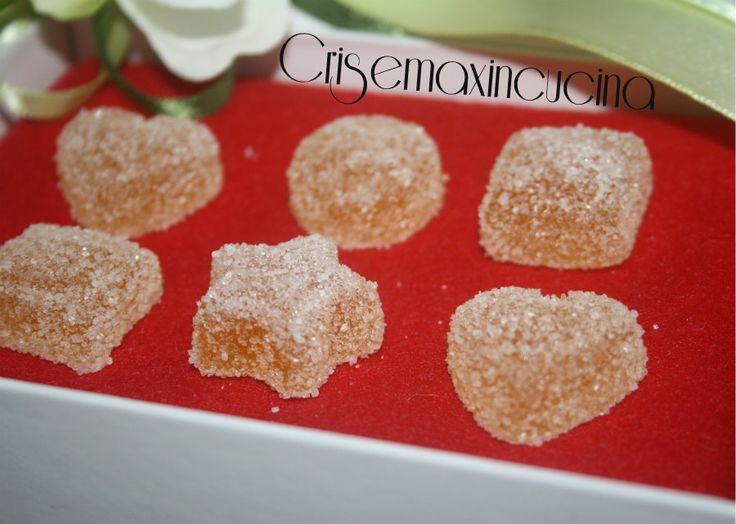 Caramelle gelee, ricetta con il succo di frutta