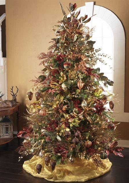 2014 raz pheasant christmas tree see more of the raz trees for decorating ideas at - Christmas Tree Decorations Ideas 2014