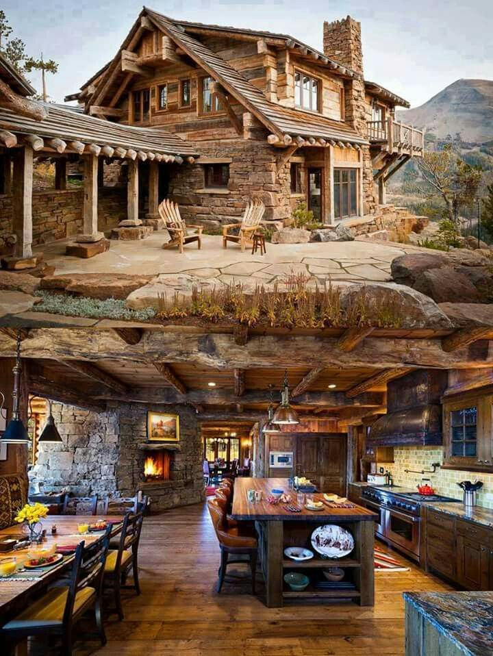 I want that. My absolute dream home, inside and out