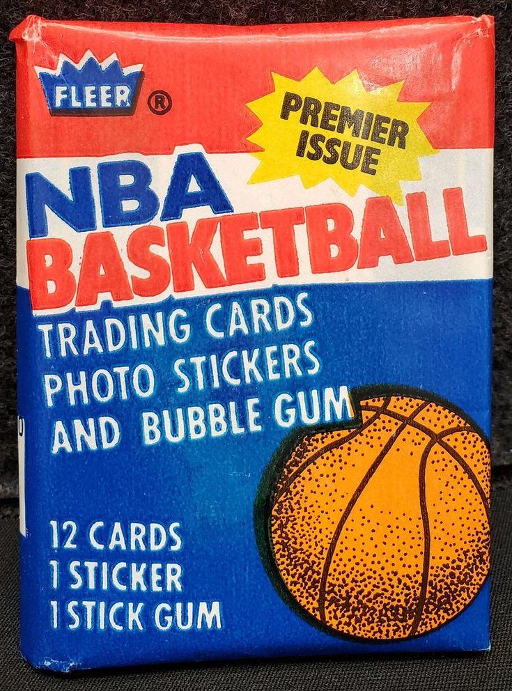 1986 fleer basket pack michael jordan rookie year for sale