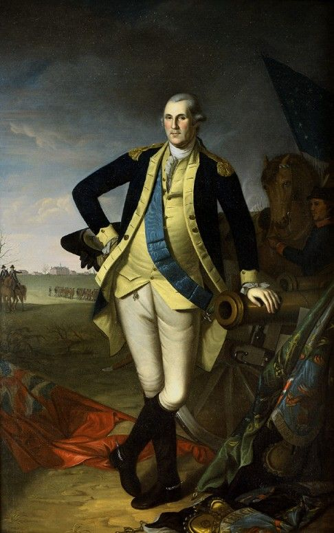 The Battle of Brandywine·George Washington's Mount Vernon        General George Washington commanded the American forces at Brandywine.