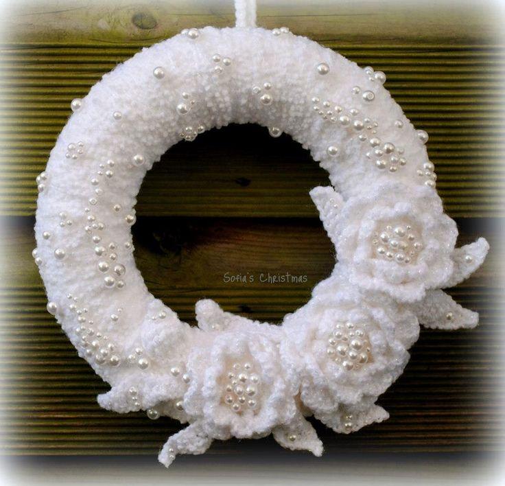 304 Best Crochet Wreaths Images On Pinterest Crochet Free Patterns
