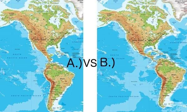 South America moved eastwards! - Mandela-Effect Wiki Forum