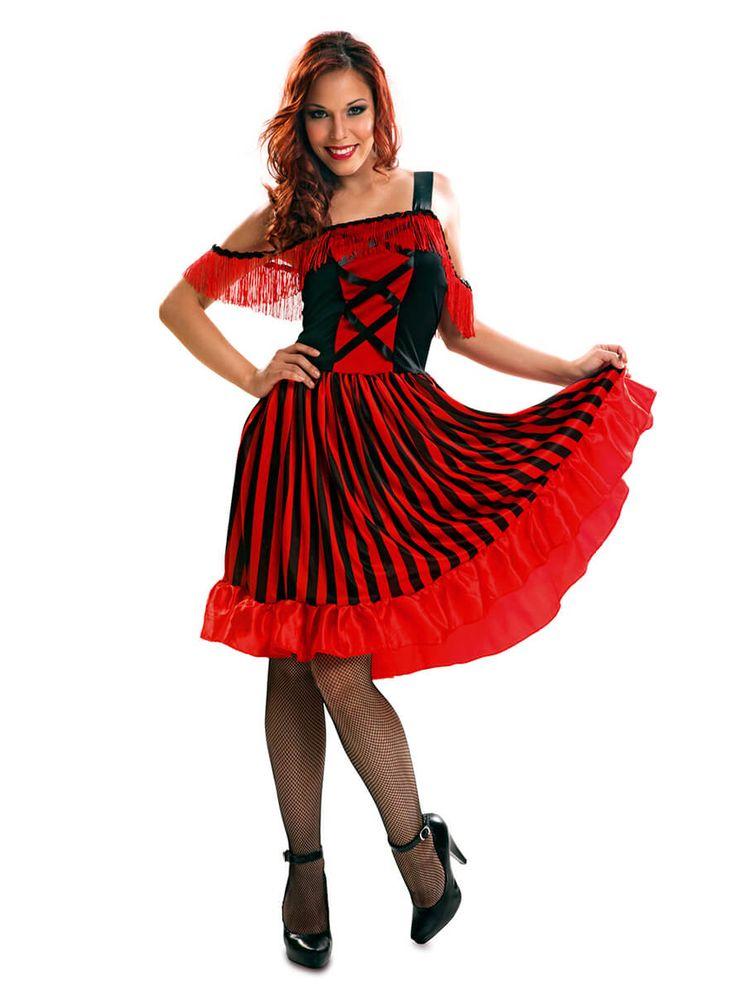 Disfraz de bailarina Can-Can para mujer