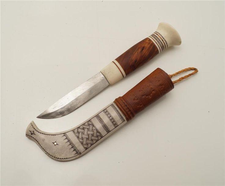 Samekniv av Sven Nyman Serrejaur på Tradera.com - Knivar från
