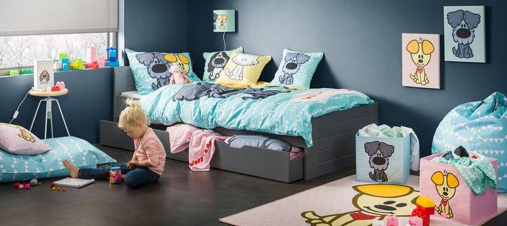 #kinderkamer #bed #bed lades #dekbed Vloerkleedje