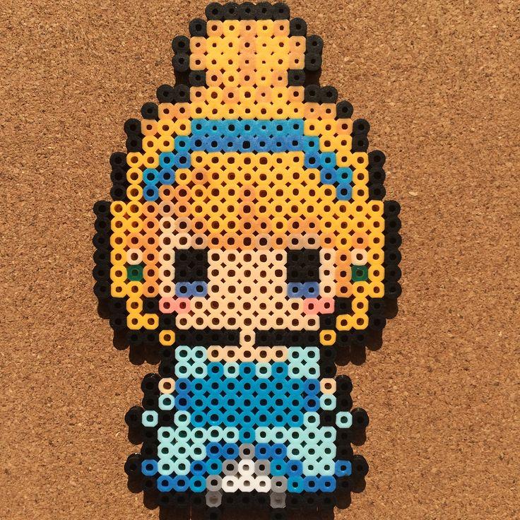 Cinderella perler beads by tsubasa.yamashita