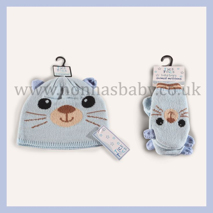 Just so the baby boys don't feel left out :-) We have a gorgeous Double Lined Knitted Boys Animal Hat and Mittens, Blue Cat.  Find out more: http://nonnasbaby.co.uk/product-category/hats-gloves-mittens/