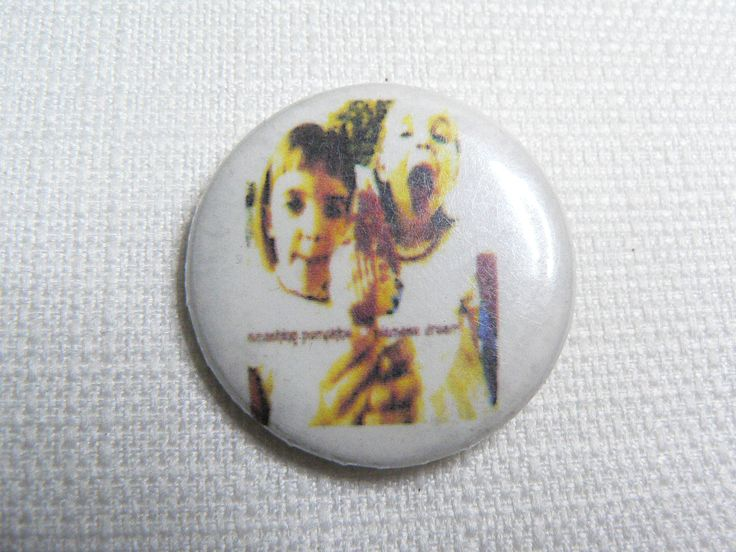 Vintage 90s The Smashing Pumpkins - Siamese Dream Album (1993) Pin / Button / Badge by beatbopboom on Etsy