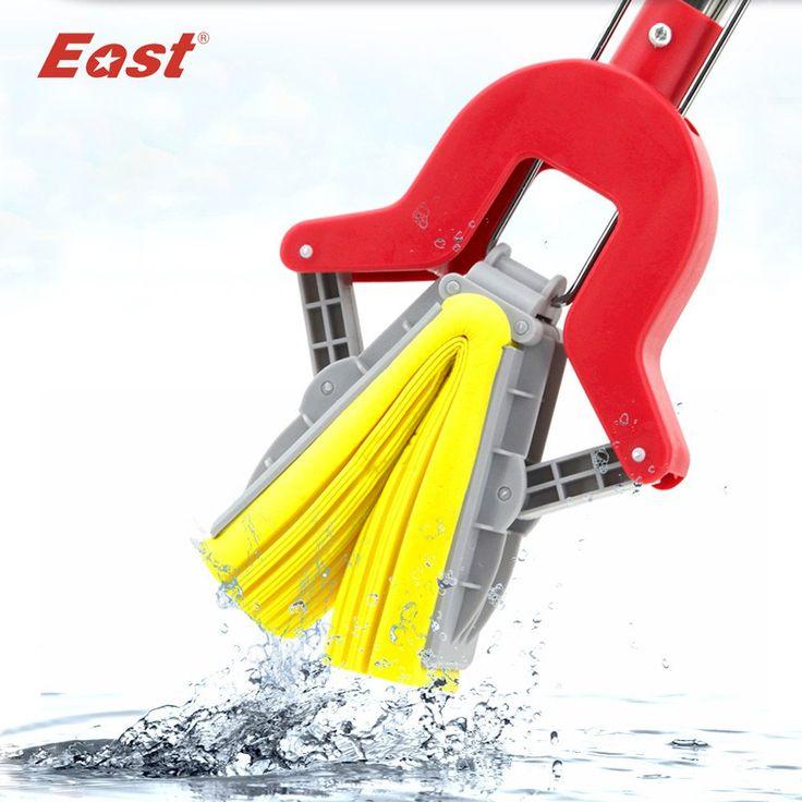 East PVA Collodion Sponge Mop Floor Cleaning Mop Folding Absorbing www.Dealz360bargains.com