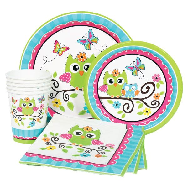 Best 25 owl party supplies ideas on pinterest western for 1st birthday decoration packages