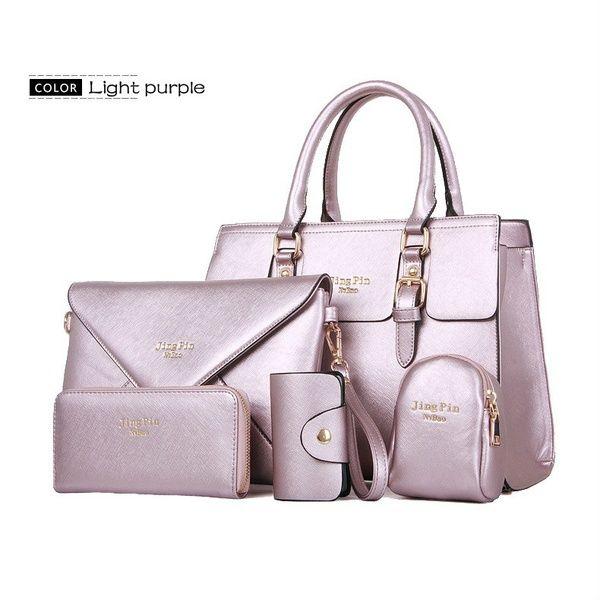 Ladies Designer Handbag Tote Shoulder Women Bag Heart Gold Keyring