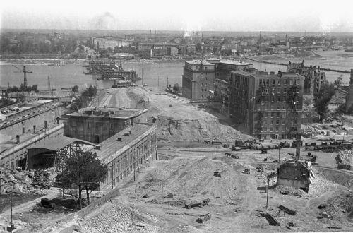 Rebuilding of Warsaw 1948