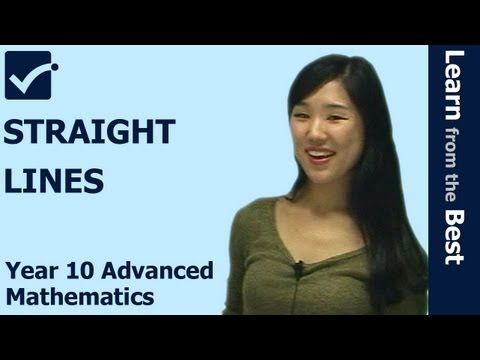 √ Straight Lines using Algebra of basic Graphs - Year 10 Advanced Maths - Maths Online Tutor This online video lesson introduce how to sketch the graphs of straight lines more effectively and easily. For more online videos, please visit http://www.primeonlinetuto.com/ma4 MA4101 http://youtu.be/t5YH2WsIZRA