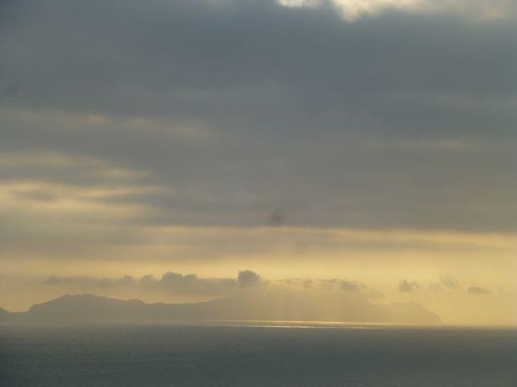 4 y 42 pm. El sol se va ocultando poco a poco.