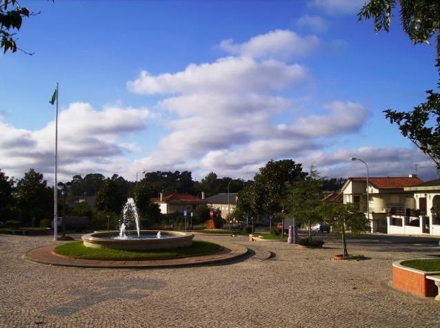 Largo do Troviscal, Oliveira do Bairro, Aveiro, Portugal