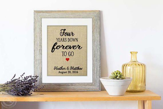Gift Ideas For 4 Year Wedding Anniversary: Best 25+ 4th Wedding Anniversary Gift Ideas On Pinterest