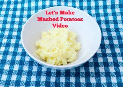 Let's Make Video How to Make Mashed Potatoes From Scratch #howtovideo #mashedpotatoes My Family Mealtime