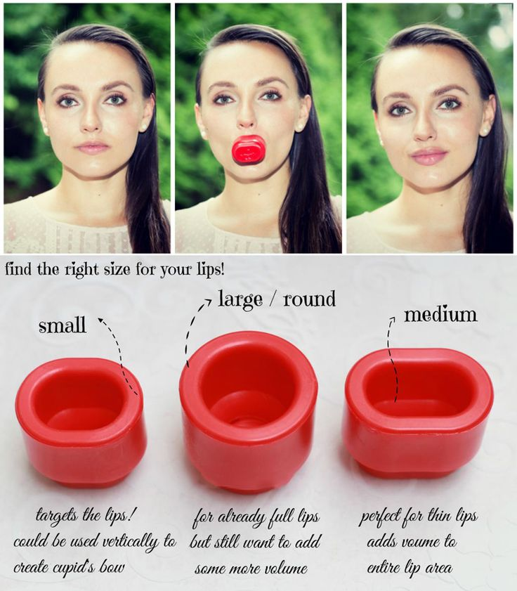 Plump your Lips naturally....LOL! There is nothing natural about this :-D