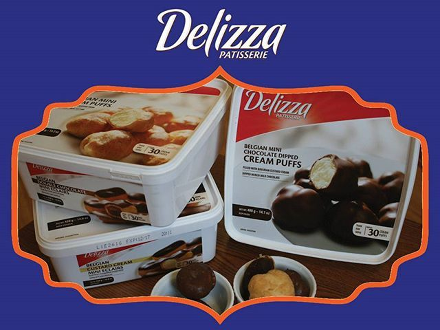 Looking for that mid-week pick-me-up? Delizza Creampuffs & Eclairs are here to help! Find us in your local grocery store! ▪ #mydelizza #delizza #delizzapatisserie #delizzadessert #creampuffs #eclairs #dessert #eeeats #sweettooth