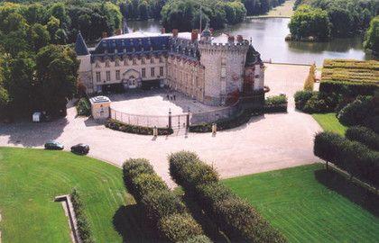 Château de Rambouillet - Vue aérienne