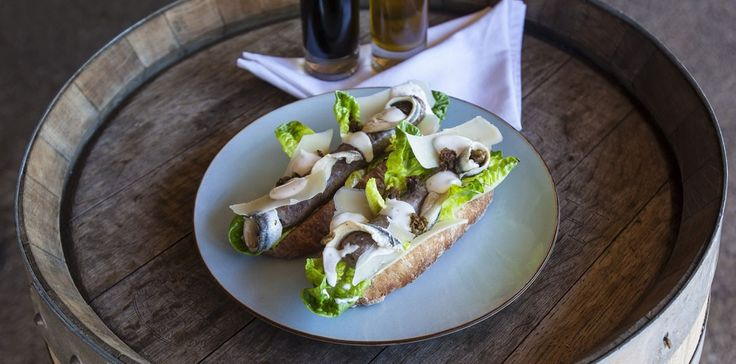 The more sophisticated boerie - Caesar salad wors roll.