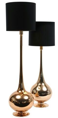 модные настольные лампы les heritiers lighting