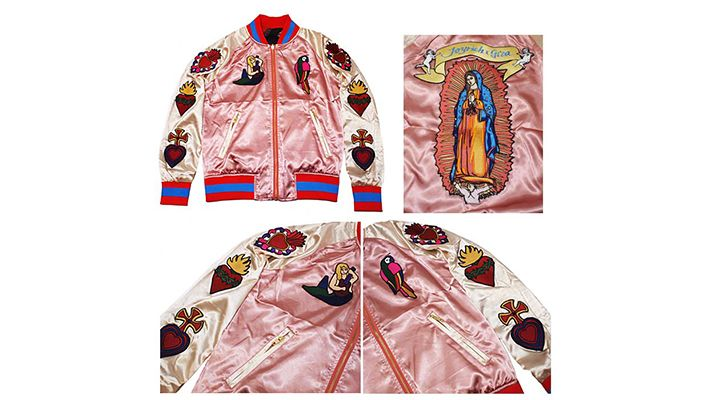 Joyrich / Mexico Vacation Embroidered Stadium Jacket | Znaffle, #Znaffle, #BeckyG, #StealHerStyle, #WhatStarsWear, Spot this item in the original music video, http://znaffle.com/videos/becky-g-becky-from-the-block-536