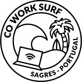 Cowork surf coliving coworking space logo sagres Algarve Portugal