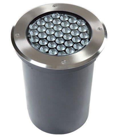 Luminaire encastrable au sol / à LED / rond / d'extérieur - ARC SOURCE - AMBIANCE LUMIERE