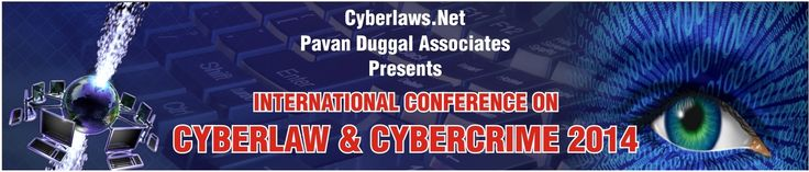 The International Conference on #Cyberlaw, #Cybercrime & #Cyber Security is being held on 20thNovember, 2014 at New Delhi, India. Visit http://cyberlawcybercrime.com/ for more information