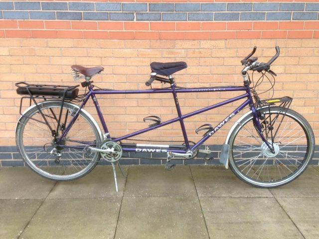 Dawes Discovery Tandem Electric Bike Conversion Electric Bike Kits Electric Bike Conversion Electric Bike