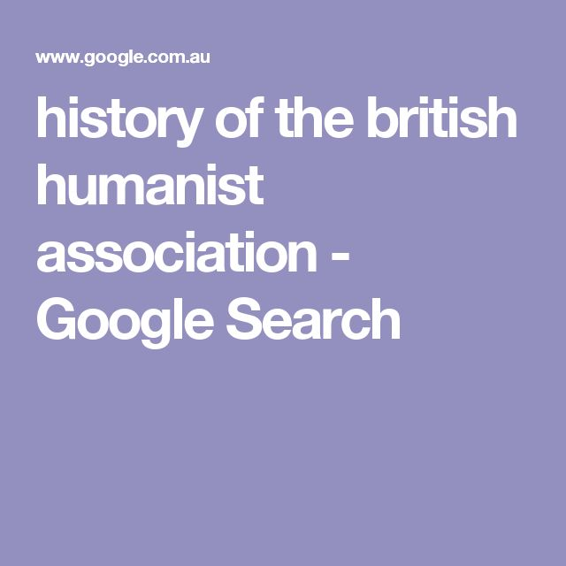 history of the british humanist association - Google Search