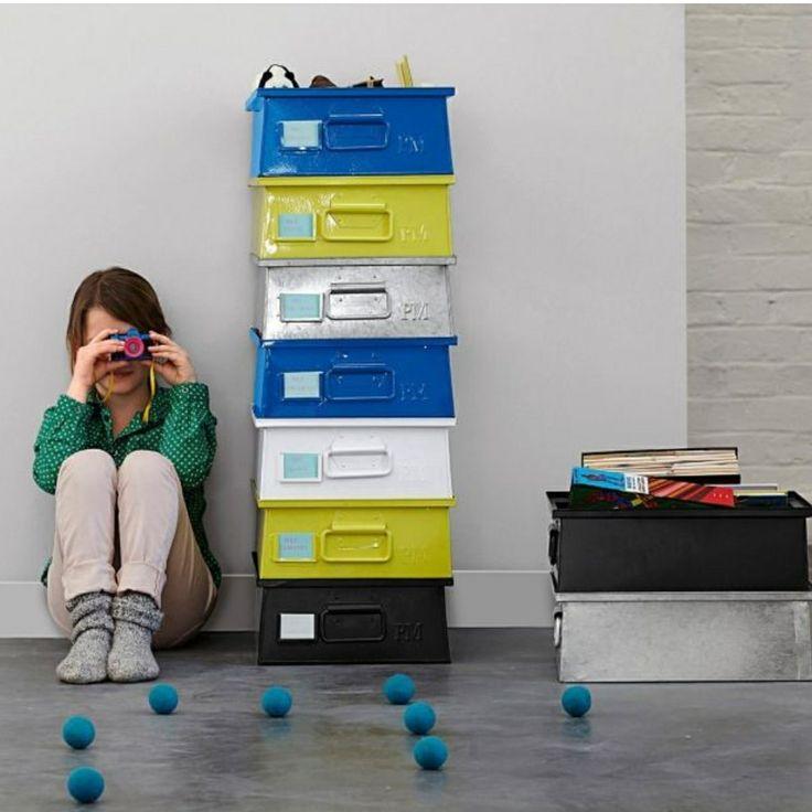 ampm la redoute caisse m talliques scraproom pinterest. Black Bedroom Furniture Sets. Home Design Ideas