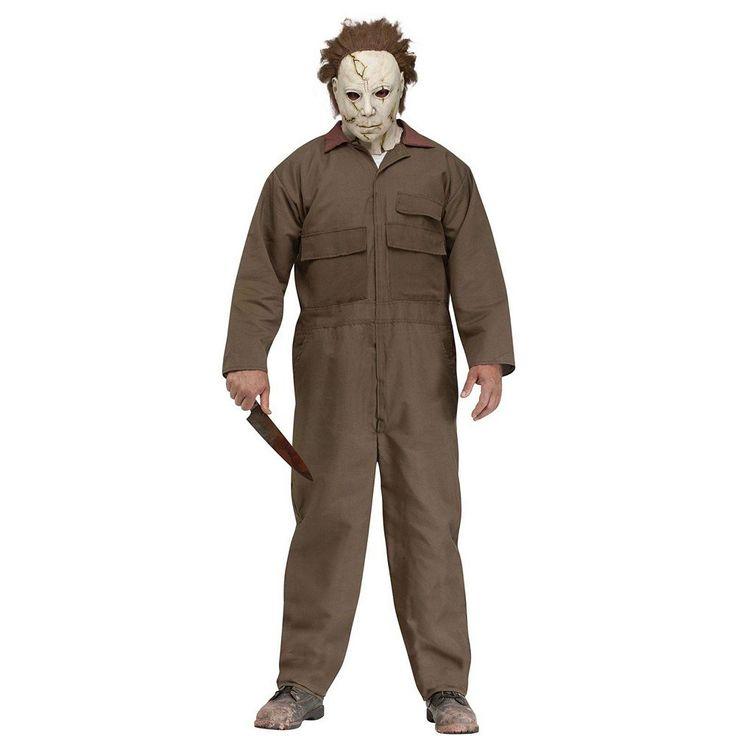 Michael Myers Costume - Adult, Men's, Multicolor