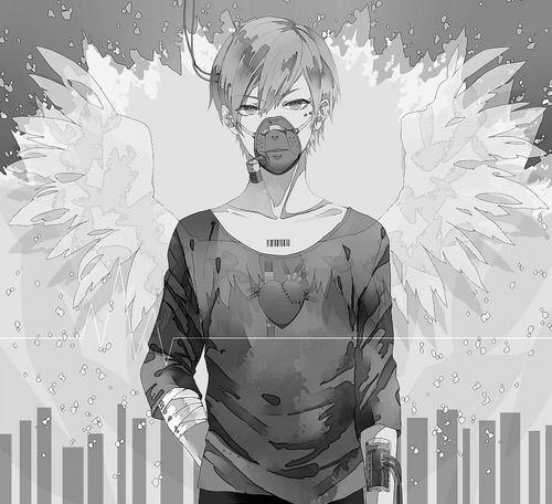 Image via We Heart It #angel #anime #art #boy #cool #ghost ...