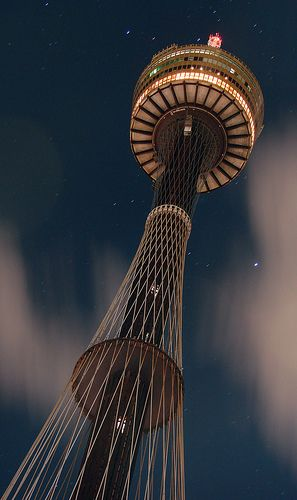 Centrepoint Tower, Sydney Australia (revolving restaurant at the top) Is it too early to make dinner reservations for November (just to make sure we get a table)? ;o)
