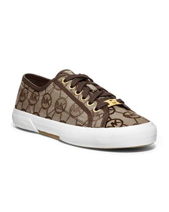 MICHAEL Michael Kors Boerum Canvas Sneaker. -100, to replace my coach ones which…