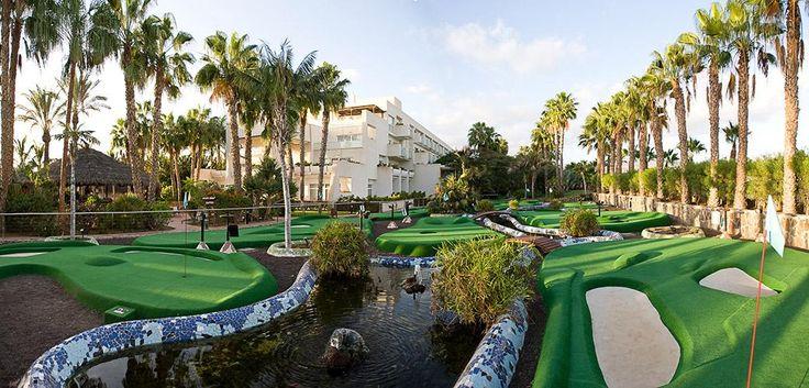 Maspalomas & Tabaiba Princess Resort **** - #princesshotels #gran #canaria #family #kids #hotel #minigolf