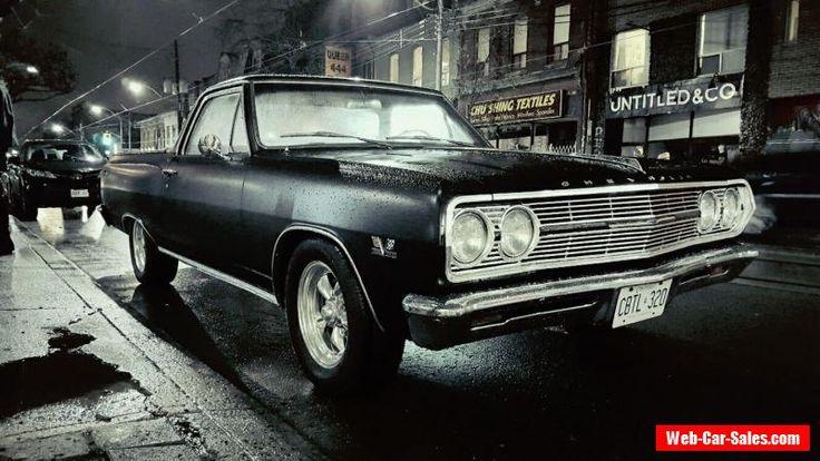 Chevrolet: El Camino #chevrolet #elcamino #forsale #canada