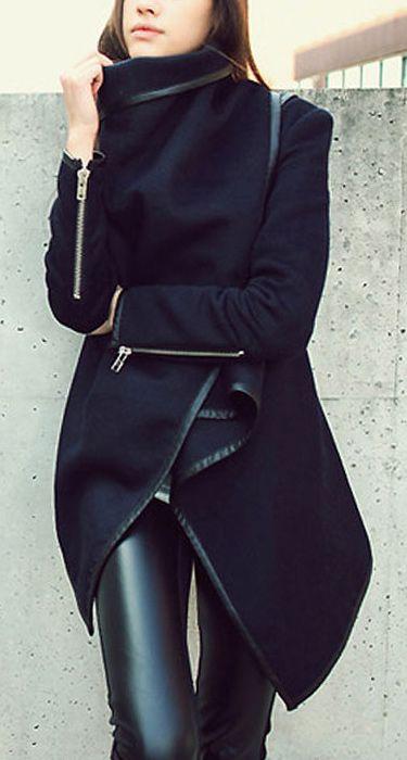 Wrap coat inspiration